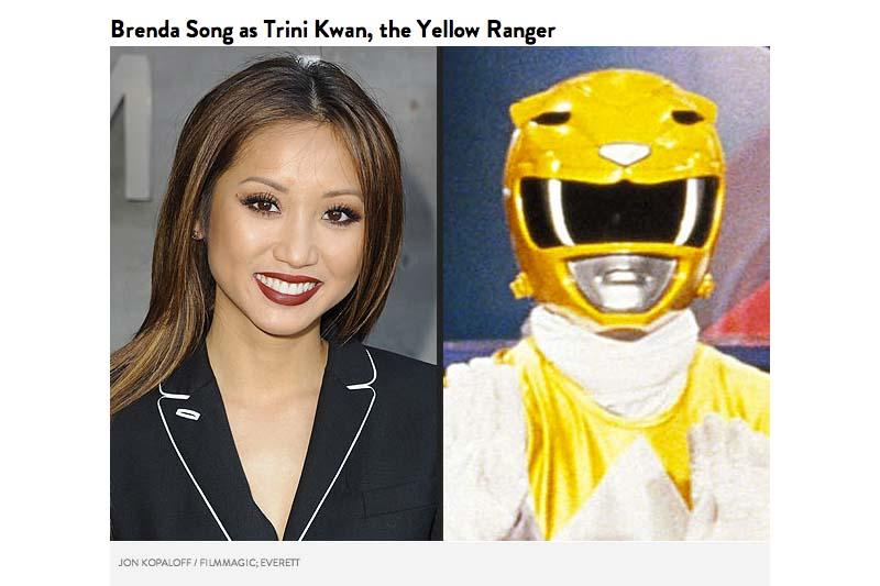 Brenda Song sebagai Trini Kwan, Yellow Ranger