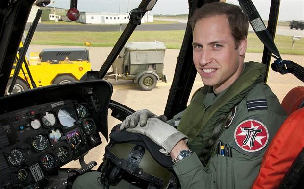 Jadi Pilot Helikopter, Pangeran William Siap Sumbangkan Gajinya untuk Amal