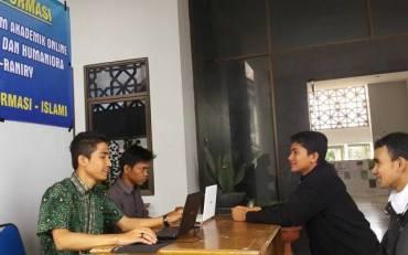 Mahasiswa UIN Ar-Raniry Sosialisasi Portal e-Akademik