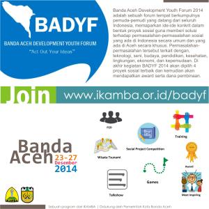 Banda Aceh Development Youth Forum 2014