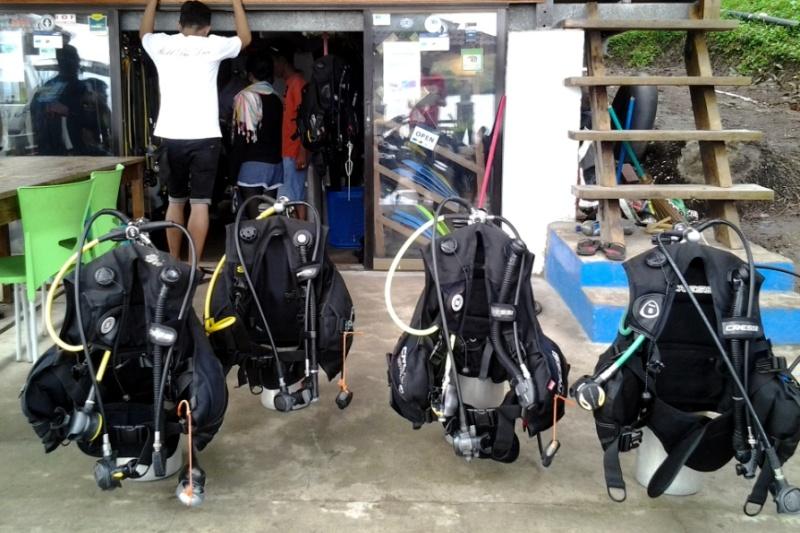 Foto Perlengkapan Diving (by @antoniogayo-seputaraceh.com)