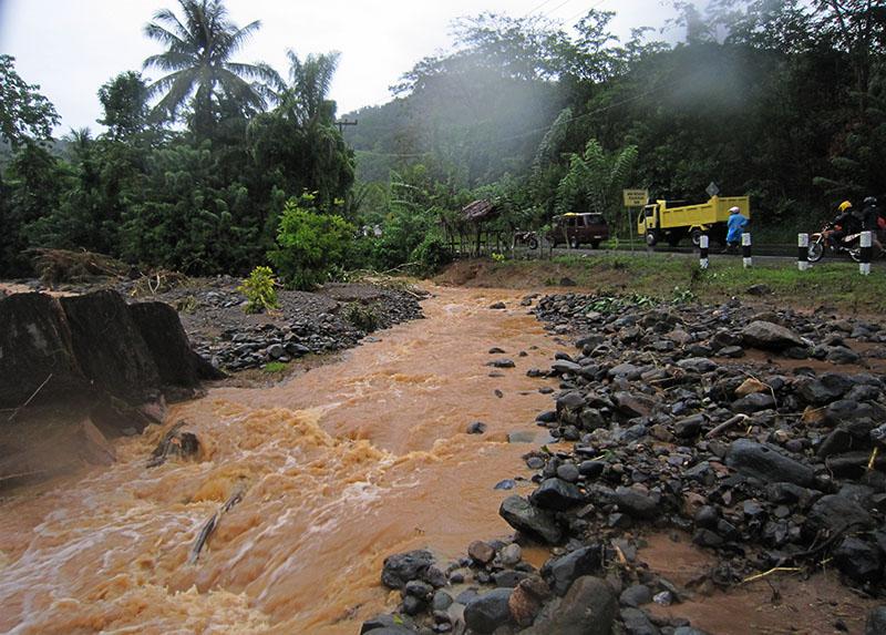 ilustrisi banjir (Foto M Iqbal/SeputarAceh.com)