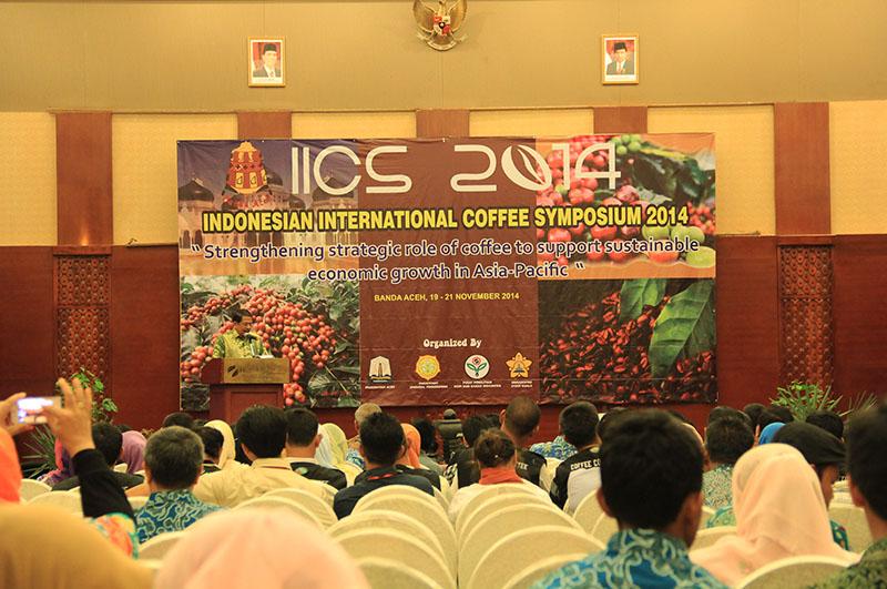 Foto Pembukaan Indonesian International Coffee Symposium di Aceh