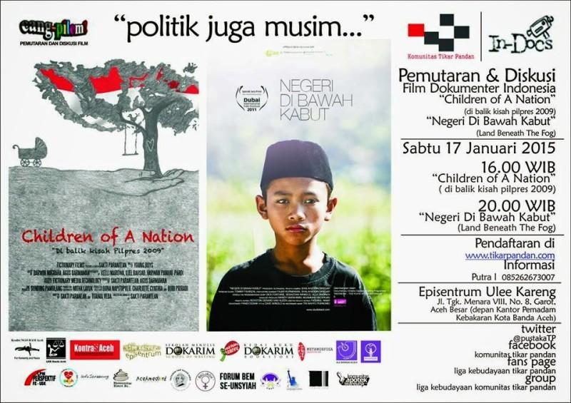 Komunitas TP Gelar Nonton Bareng Film Dokumenter Indonesia